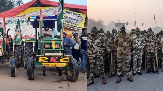 Republic Day 2021: किसानों का Tractor March आज, किले में तब्दील हुई Delhi; देखें Traffic Advisory