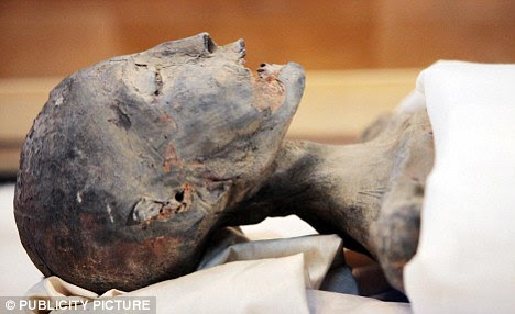 Mummy's mummy: The remains of King Tut's mother which were studied in constructing Tut's DNA profile