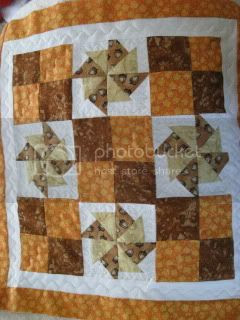 Finally Quilted the Fall Mini Quilt Swap