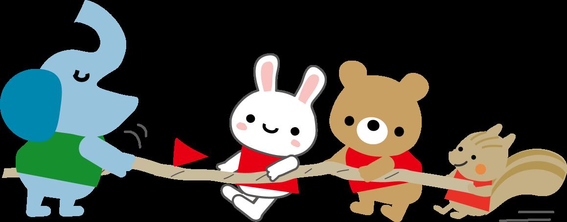 運動会のイラスト挿絵無料イラスト
