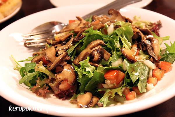 Warm Balsamic Mushroom