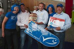 MSC team met bieders / MSC team with winning b...
