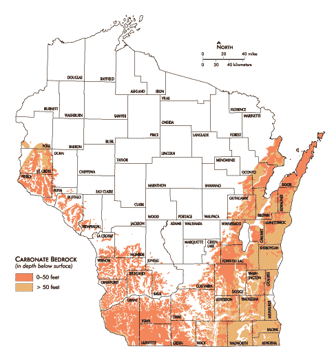 Caves In Wisconsin Map | World Map Interactive on