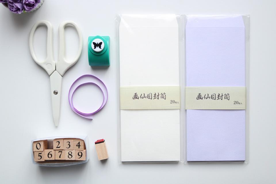 新役員さん必見 封筒からクジ付き席札を作る方法 窪田千紘フォト