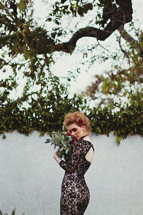 Crimson Peak Inspired Victorian Gothic Bridal Shoot · Rock