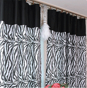 Online Get Cheap Zebra Print Curtains -