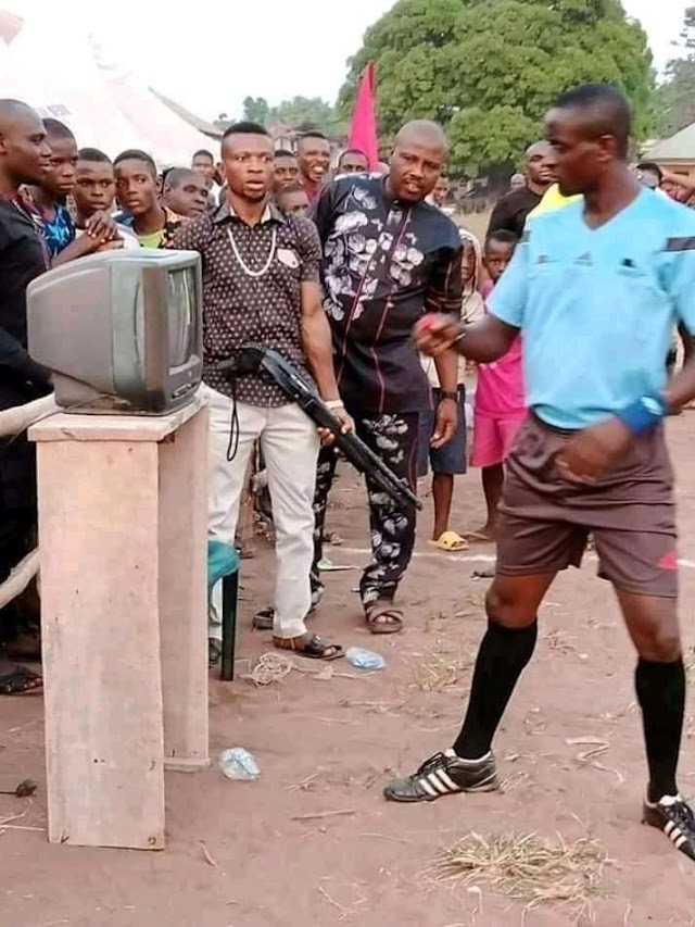 See How 'FIFA VAR' Was Introduced In Village Football Competition In Imo State.