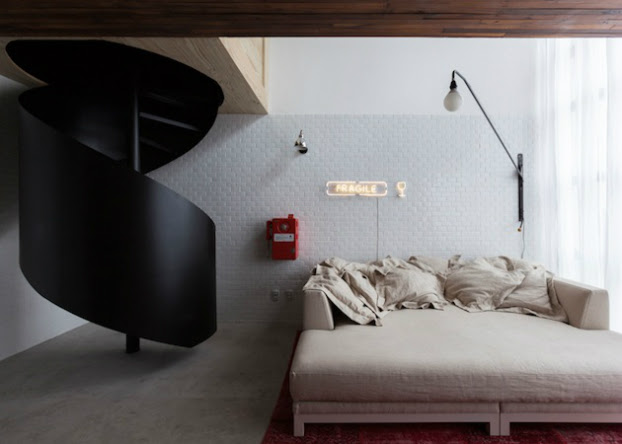 Youthful and Unpretentious Small Apartment 5