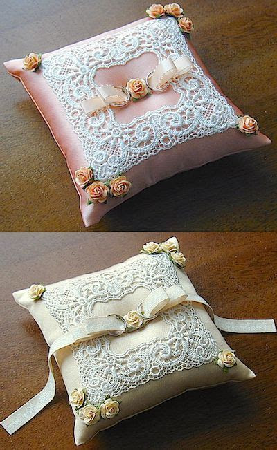 1000  ideas about Ring Pillows on Pinterest   Ring Bearer