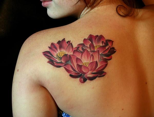 Lotus Tattoo On Shoulder Design Of Tattoosdesign Of Tattoos