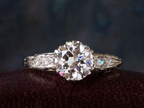 1920s 1.24ct Diamond Ring   Erie Basin