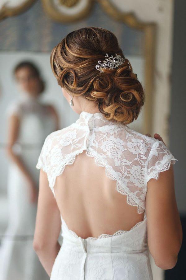28 Striking Long Wedding Hairstyle Ideas | Deer Pearl Flowers - Part 2