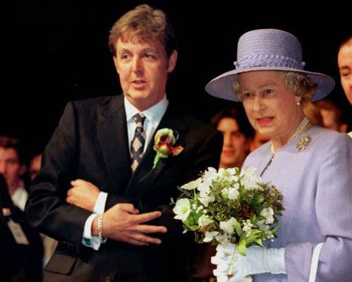 Image result for Paul McCartney knighted images