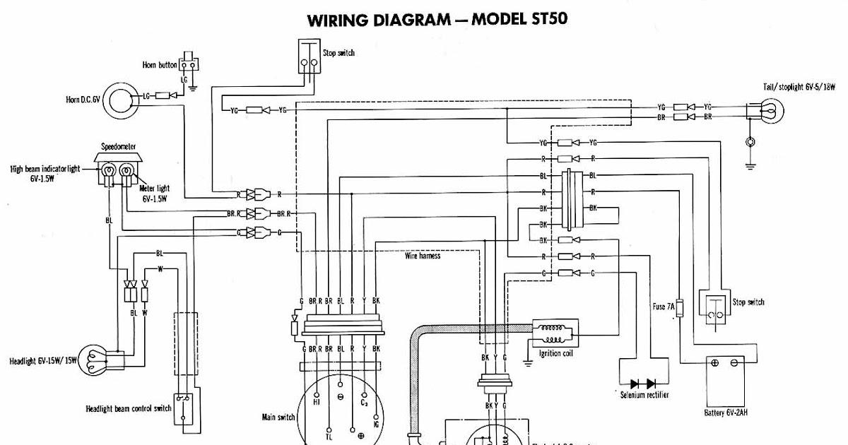 63 Schema Electrique Honda Dax