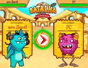 Batalha Dos Numeros Escola Games Jogos Educativos