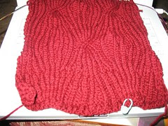 Red Scarf scarf