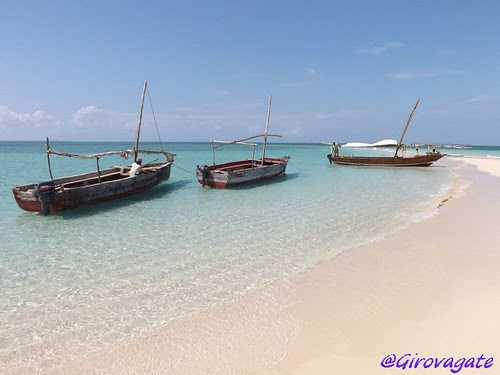 Zanzibar lingua sabbia