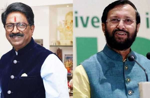 Arvind Sawant's resignation: Javadekar appointed additional industrial minister