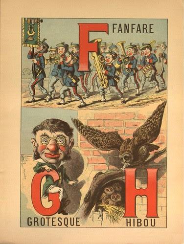 Grand Alphabet Amusant (Morel) FGH