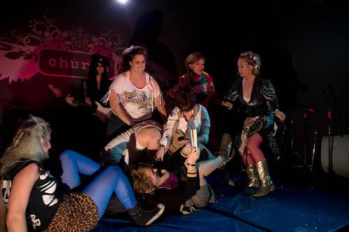 Boston League of Women Wrestlers, Saturday at PA's Lounge