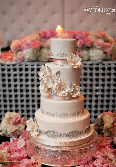 luxury blush pink wedding cake Archives   Weddings Romantique