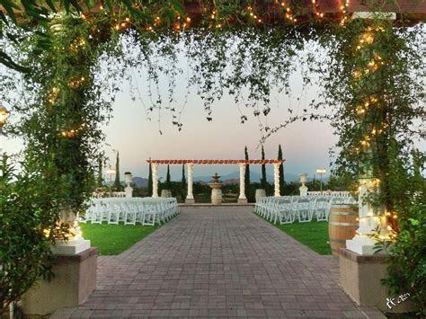 Mount Palomar Winery wedding ceremony venue   Temecula