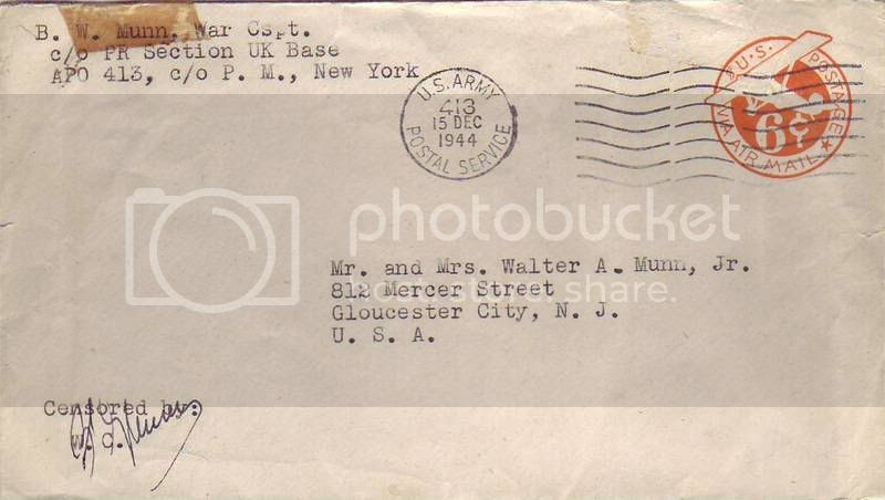UK WarCo Envelope Pictures, Images and Photos