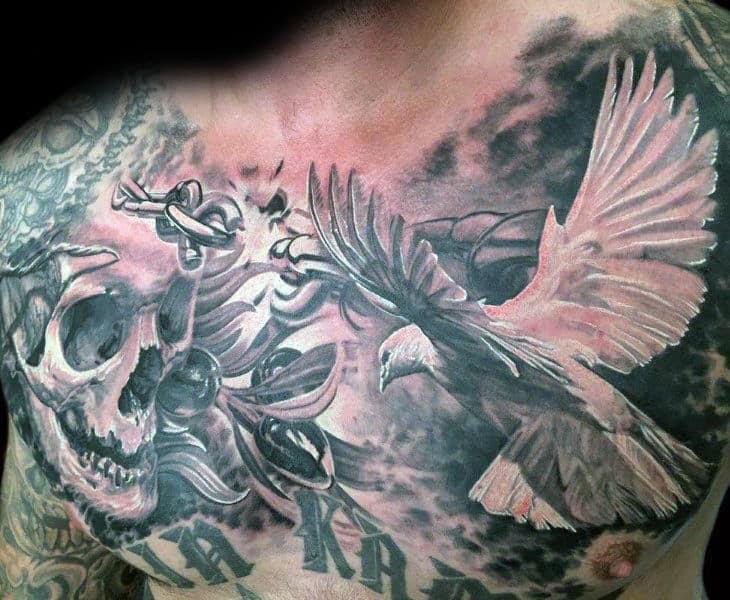 70 Olive Branch Tattoo Designs For Men Ornamental Ink Ideas