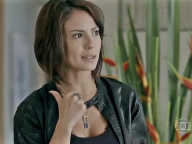Andreia Horta na pele de Maria Clara (Foto: Vídeo Show / TV Globo)
