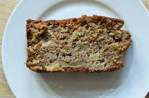 Brown Butter Apple Loaf