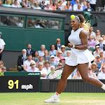 TENNIS. Wimbledon : Serena Williams à une marche de l'histoire
