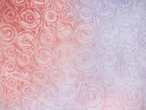 Wax Paper Technique #2 - Faux Embossing Resist 016