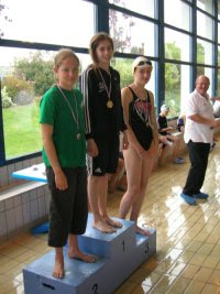 Juliette : seconde du 50 m Brasse