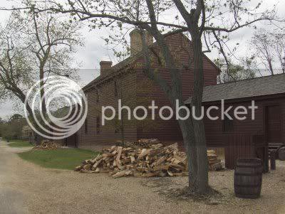 Williamsburg Virginia house of Peyton and Elizabeth Randolph