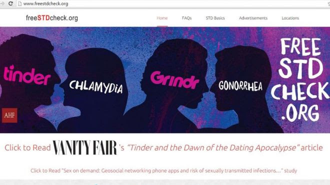 Tindr and Grindr campaign