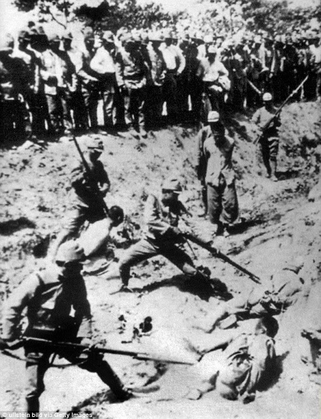 Image result for Chinese mass graves by military