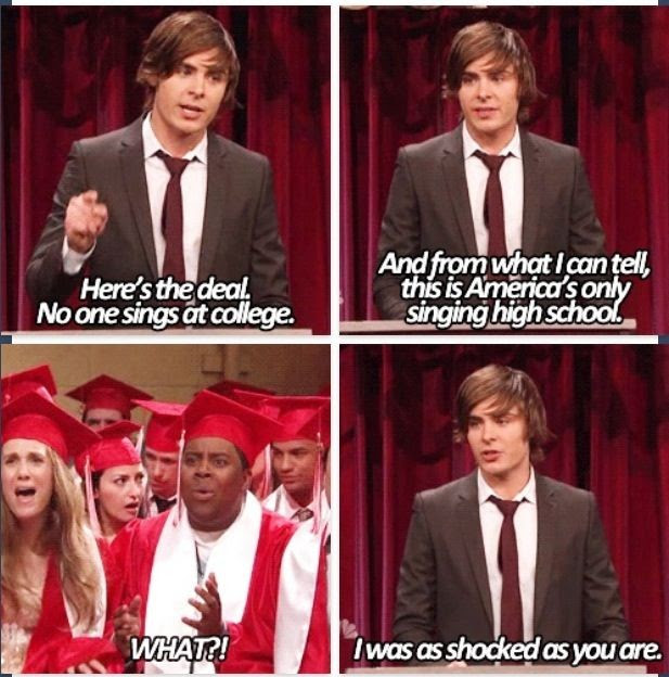 Zac High School Musical Quote Quote Number 646224 Picture Quotes