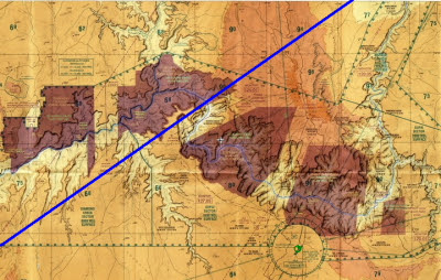 Grand Canyon and PGA-IFP direct route