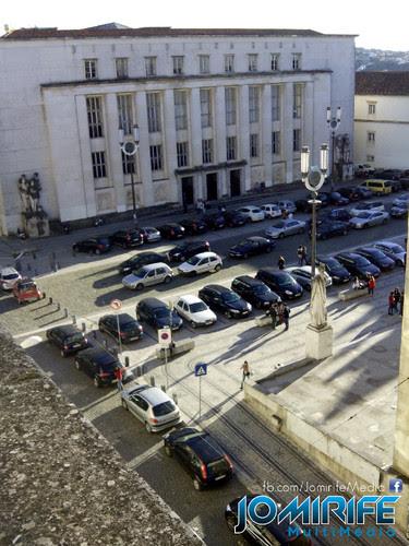 Rua Larga da Universidade de Coimbra vista do topo da Faculdade de Medicina FMUC [en] Broad Street of the University of Coimbra viewed from the top of the Faculty of Medicine FMUC