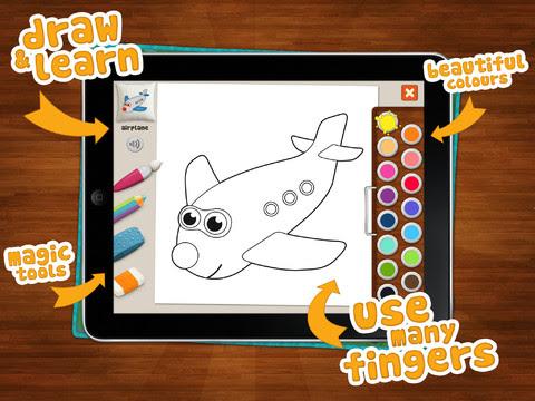 Memollow Coloring Pages App Review - Let's Go Van Gogh ...