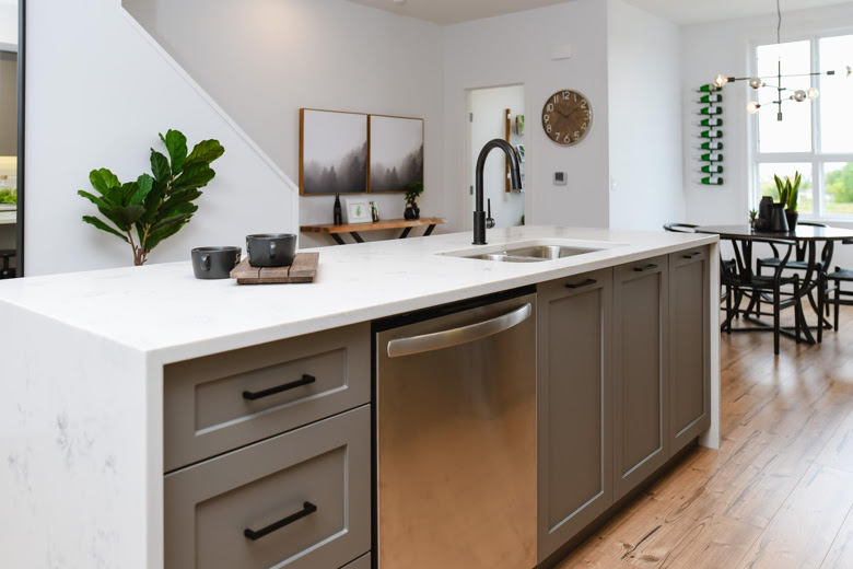 Why We Love Waterfall Countertops Gem Cabinets