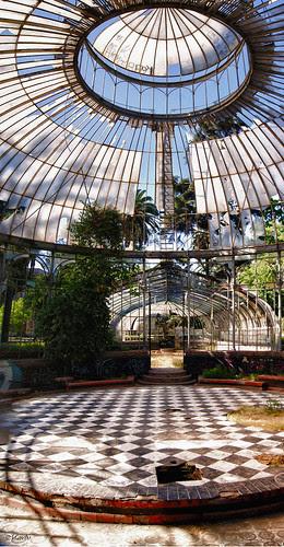 Invernadero parque Quinta Normal by Alejandro Bonilla