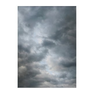 Storm Clouds Breaking Photograph Acrylic Wall Art