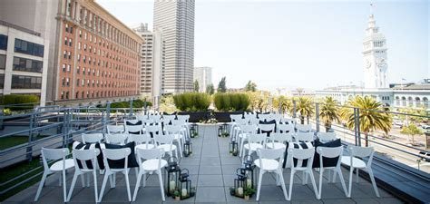 Embarcadero San Francisco Wedding Venues   Hotel Vitale