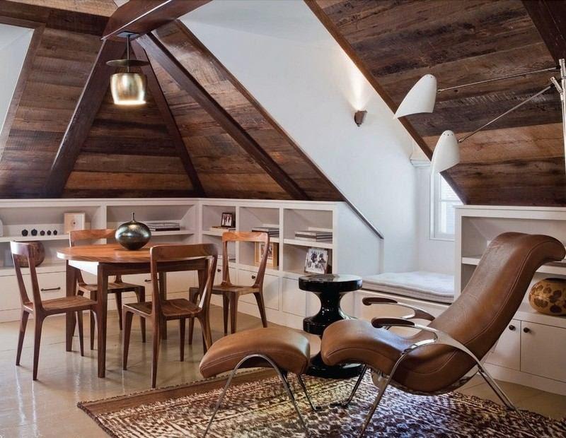 Wohnideen f\u00fcr Dachschr\u00e4gen: Dachzimmer optimal gestalten