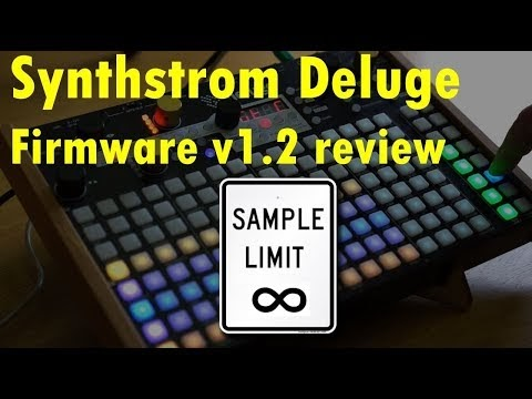 MATRIXSYNTH: Synthstrom Deluge Review of Firmware 1 2 Top