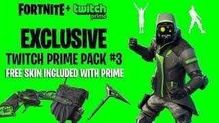 Twitch Prime Fortnite Pack 3 Release Date | Aimbot Fortnite Que Es