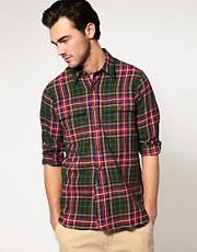 Polo Ralph Lauren Twill Plaid Custom Fit Shirt