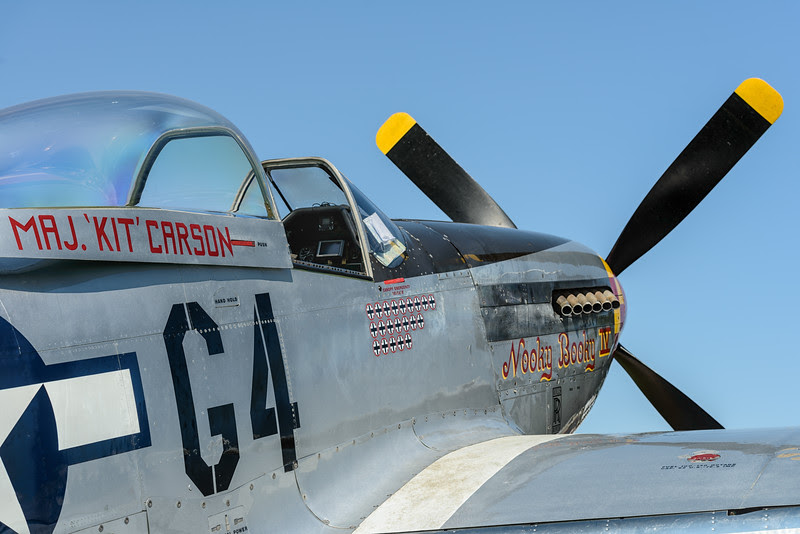 Nooky Booky IV, P-51 Mustang at Hanhnweide 2013