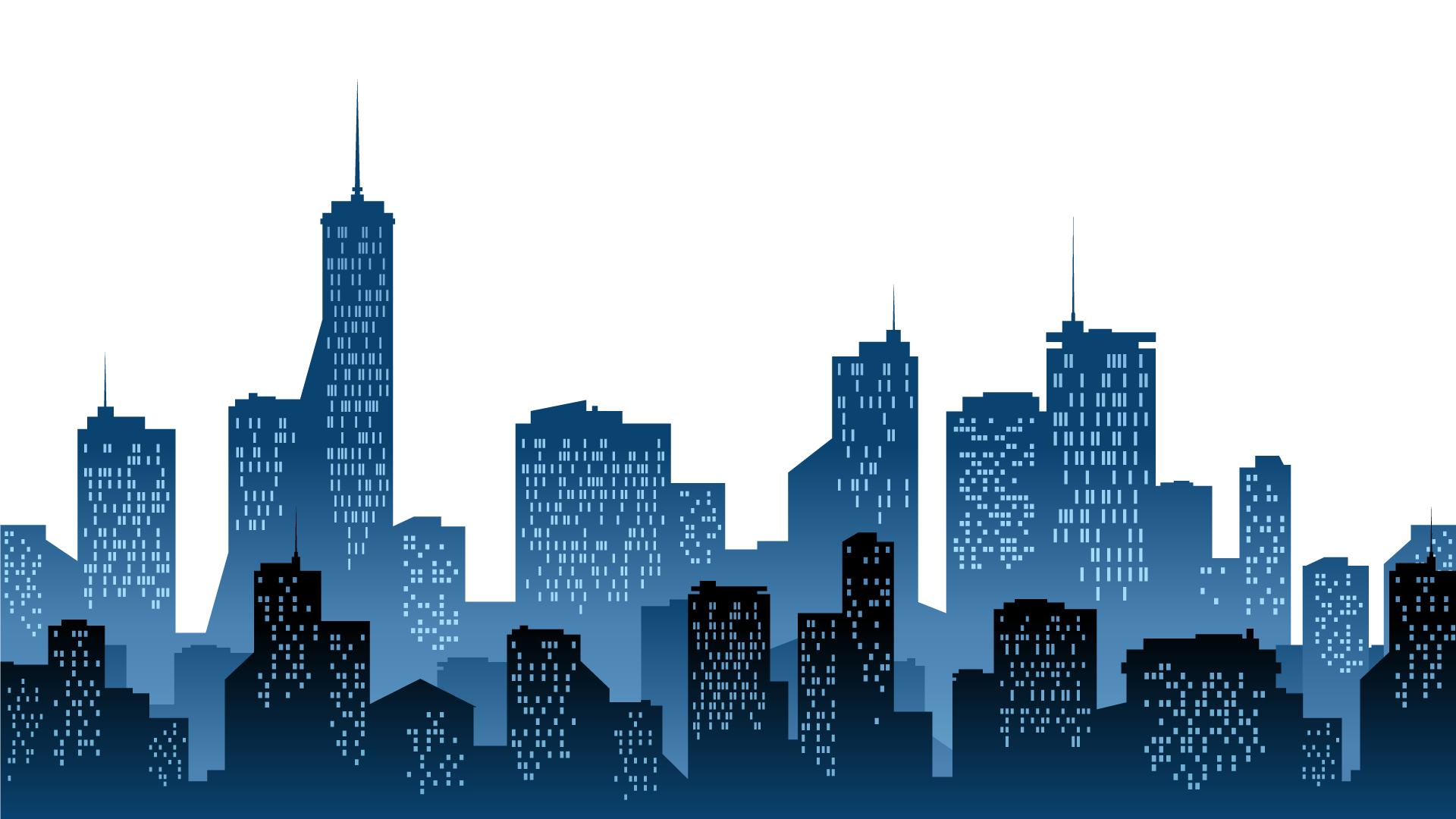 Cities: Skylines Silhouette Clip art - modern city png ...